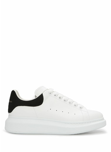 Alexander McQueen Alexander McQueen Oversize  Kadın Deri Sneaker 101611827 Beyaz